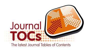 journal Tocs